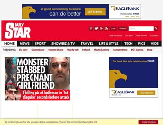 Thumbshot of Dailystar.co.uk
