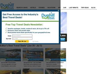 Thumbshot of Dunhilltraveldeals.com