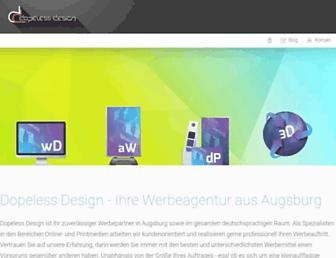 dopeless-design.de screenshot