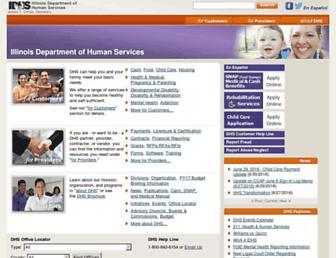 dhs.state.il.us screenshot