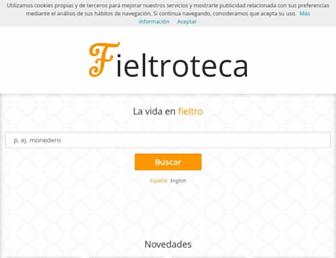 fieltroteca.com screenshot