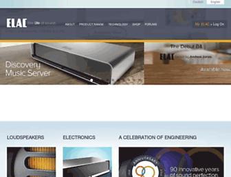 elac.com screenshot