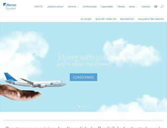 servitec-aircraft-maintenance.com screenshot
