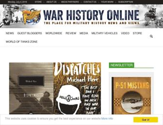 Thumbshot of Warhistoryonline.com