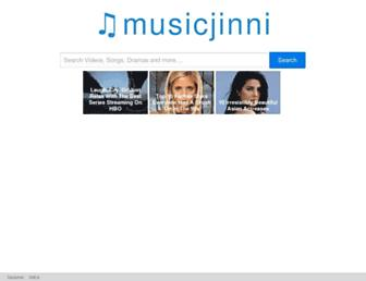 musicjinni.co screenshot