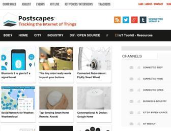 postscapes.com screenshot