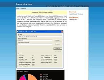 locmetrics.com screenshot