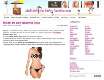 maillotdebain-tendance.com screenshot