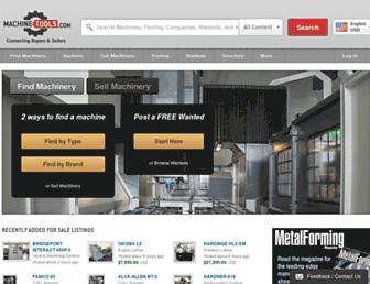 Thumbshot of Machinetools.com