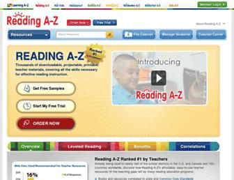 Thumbshot of Readinga-z.com