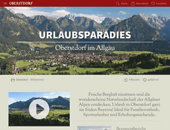 Thumbshot of Oberstdorf.de