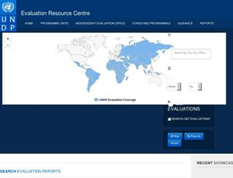 erc.undp.org screenshot