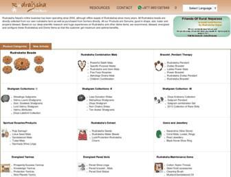 rudrakshanepal.com screenshot