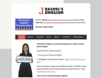 rachelsenglish.com screenshot