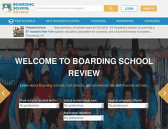 boardingschoolreview.com screenshot