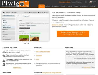 Thumbshot of Piwigo.org