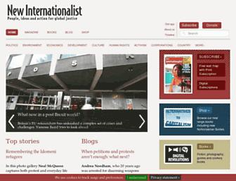 Thumbshot of Newint.org