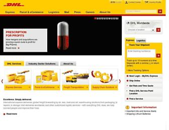 Thumbshot of Dhl.com