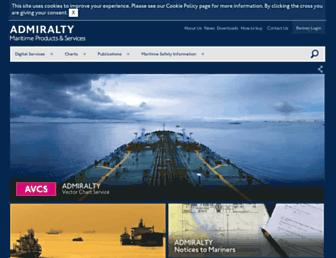 admiralty.co.uk screenshot