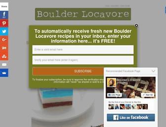 Thumbshot of Boulderlocavore.com