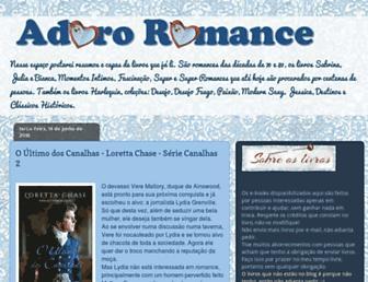 adororomance.blogspot.com screenshot