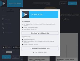 videogram.com screenshot