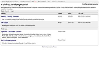Thumbshot of Fairfaxunderground.com