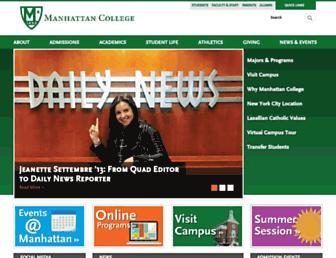 Thumbshot of Manhattan.edu
