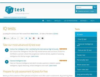 Thumbshot of Iq-test.com