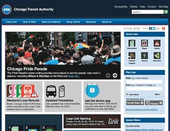 Thumbshot of Transitchicago.com