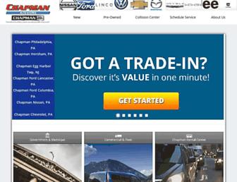 chapmanautogroup.com screenshot