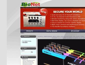bronet.biz screenshot