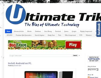 ultimatetrikz.blogspot.com screenshot