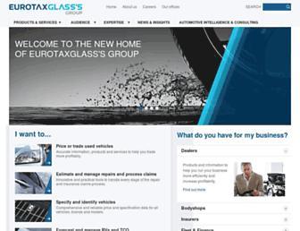 eurotaxglass.com screenshot