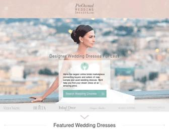 Thumbshot of Preownedweddingdresses.com