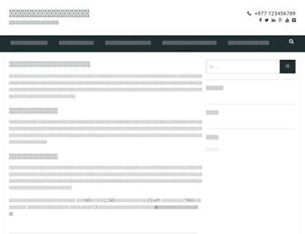 Main page screenshot of gkjw-madiun.org