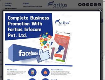 fortiusinfocom.com screenshot