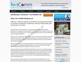 hotcomm.com screenshot