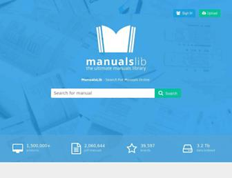 manualslib.com screenshot