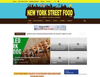 Thumbshot of Newyorkstreetfood.com