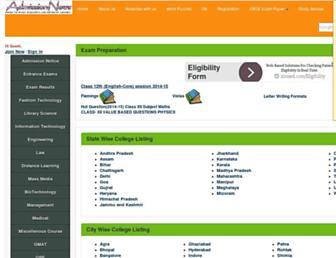 admissionnews.com screenshot