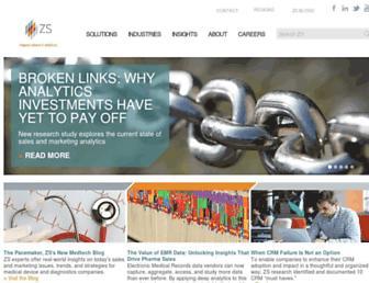 Thumbshot of Zsassociates.com