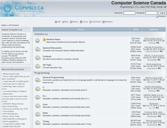 compsci.ca screenshot