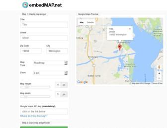 embedmap.net screenshot