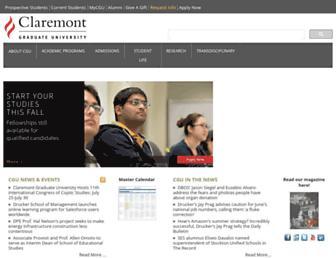 Thumbshot of Cgu.edu