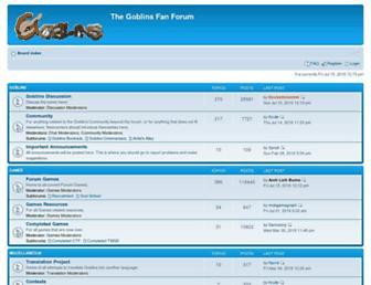 goblinsforum.com screenshot