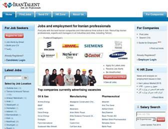 Thumbshot of Irantalent.com