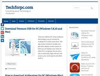 techforpc.com screenshot