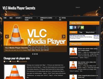 vlcmediaplayersecrets.blogspot.com screenshot