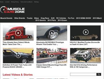 Thumbshot of Musclecarszone.com